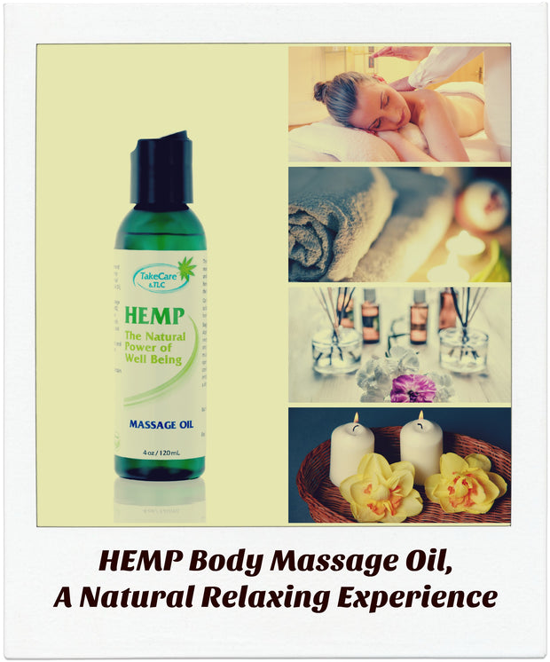 CBD Body and Skin Massage Oil