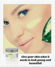 Hemp Seed Oil Facial Moisturizer Cream
