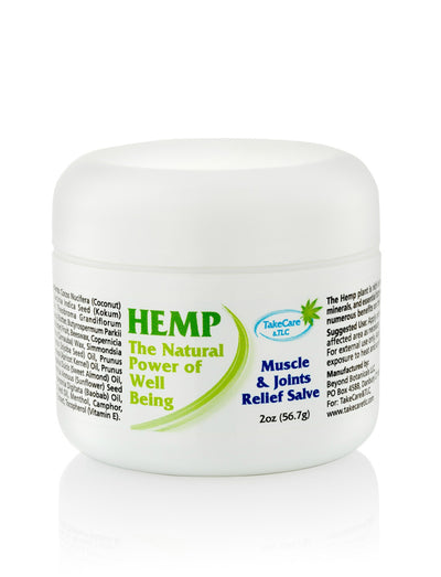 Muscle and Joints Pain Relief CBD Salve (250mg)
