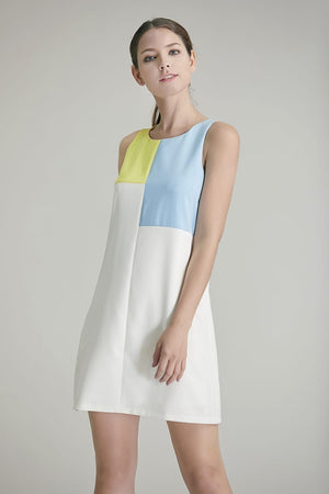 Anita Colourblock Shift Dress