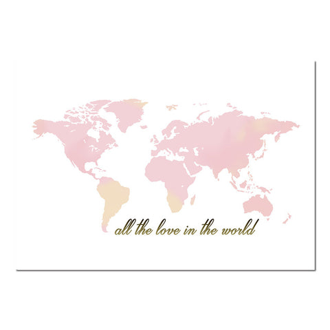 Cartoon elephant world map artsy wall design cartoon elephant world map artsy wall design gumiabroncs Image collections