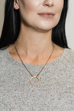 Load image into Gallery viewer, Boho Hammered Copper Necklace