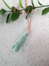 Load image into Gallery viewer, Tassel Layering Necklace