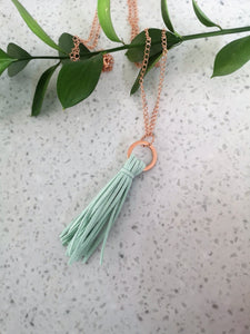 Tassel Layering Necklace