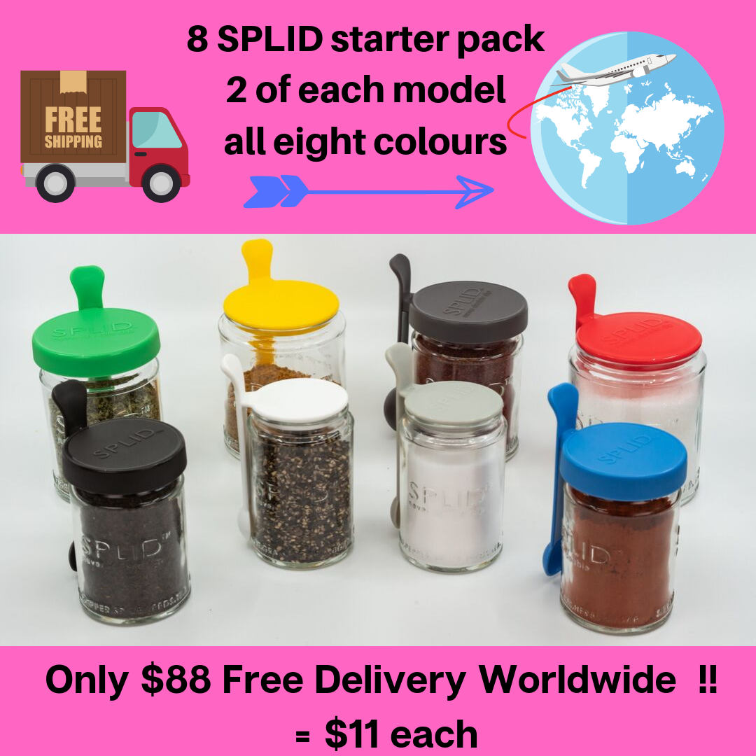 8 SPLID Starter pack Free Delivery Worldwide!!