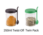 SPLID 250ml Twist-Off Twin Pack