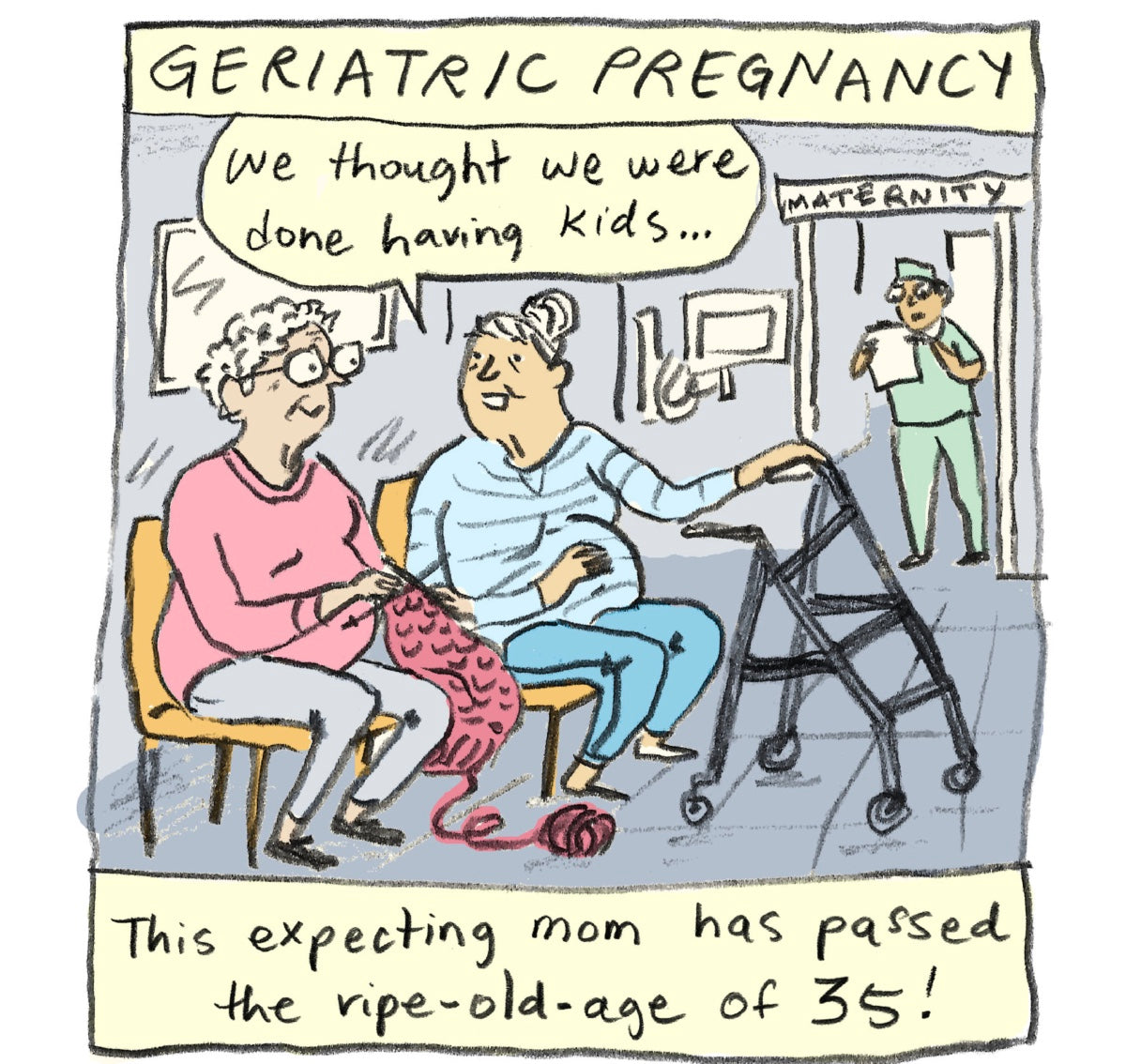 Who are you calling Geriatric ?