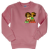 FroBabies 3D Embroidered Patch Sweatshirt - Pink