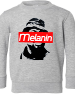 Cool Melanin - FroBabies Grey Sweatshirt