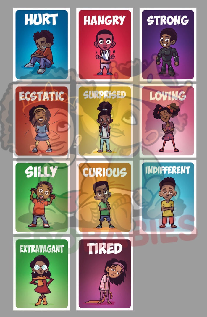 Emotions Cards- Set 2