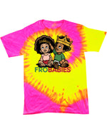 TIE DYE EDITION:  The Infamous Frobabies Signature Logo T-Shirt Series