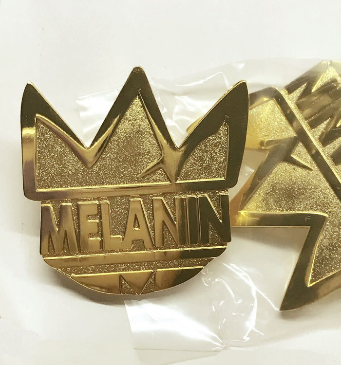 Melanin Royalty Lapel Pin