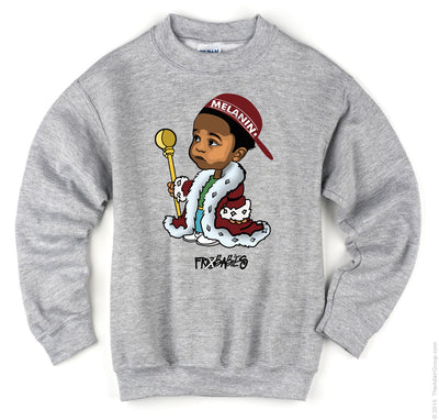 Coolest Melanin King in the Jungle - Frobabies X Collection Sweatshirt