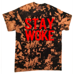 "STAY WOKE ""ONE OF A KIND"" DISTRESSED T-SHIRT"