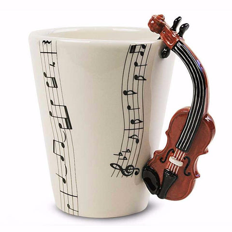 Music Instrumental Mugs