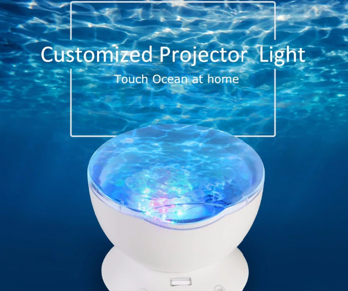 WavyNight™ Ocean Wave Projector - ValasMall