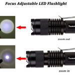 Waterproof LED Flashlight With 3 Modes - ValasMall