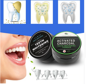 Teeth Whitening Natural Bamboo Charcoal Powder - ValasMall