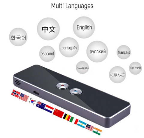 40+ Languages Portable Instant Voice Translator - ValasMall