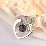 "100 Languages ""I Love You"" Projection Necklace & Ring"