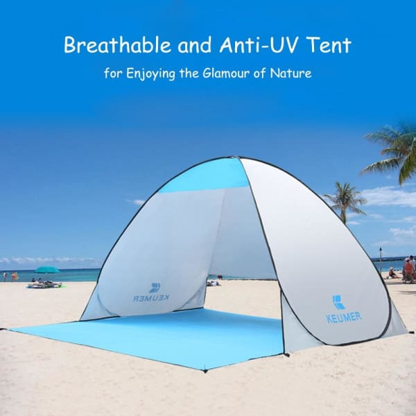 Anti-UV Popup Beach Tent - ValasMall