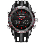 Sports Waterproof LED Digital+Analog Watch - ValasMall