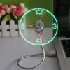 Amazing LED Clock Fan Lamp - ValasMall