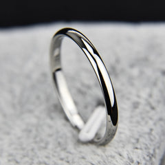 Titanium Smooth Stylist Ring