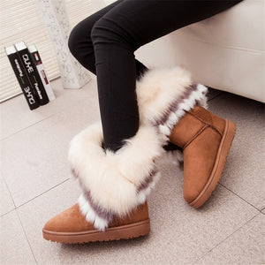 W-casual winter short boots - ValasMall