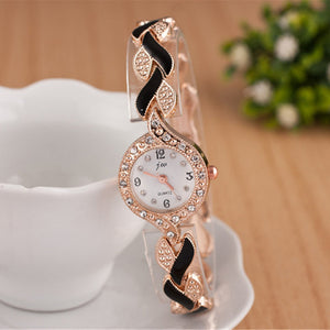 Quartz Luxury Bracelet Wristwatch - ValasMall