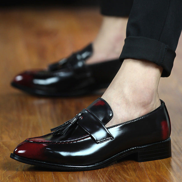 M-best leather loafer shoe - ValasMall
