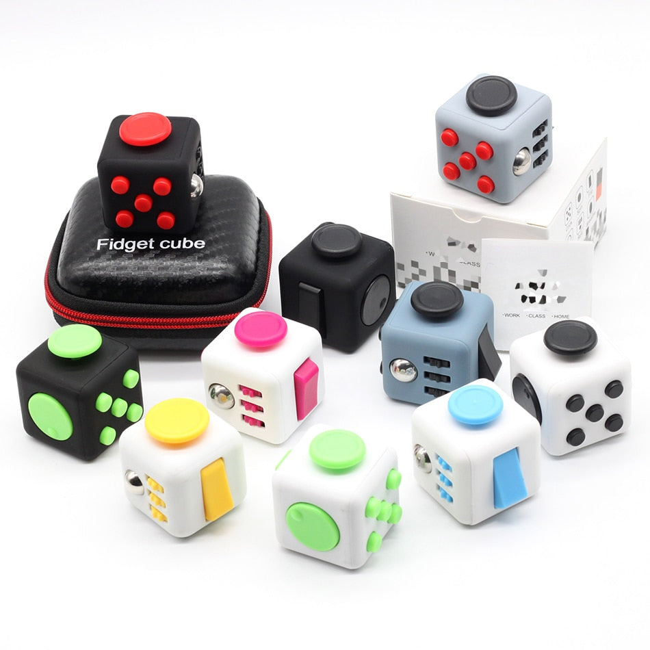 The Fidget Cube (With Zipper Bag) - 50% Off Today! - ValasMall