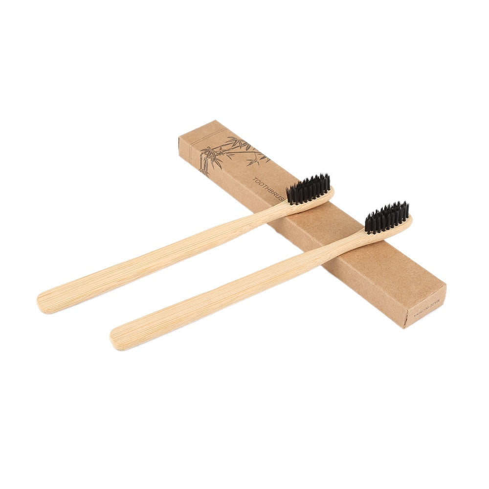 Eco-Friendly Natural Bamboo Toothbrush - ValasMall