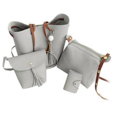 Load image into Gallery viewer, PU Leather Fashion Handbag Set - ValasMall