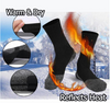 Winter 35 Below Aluminized Fibers Heated Socks - ValasMall