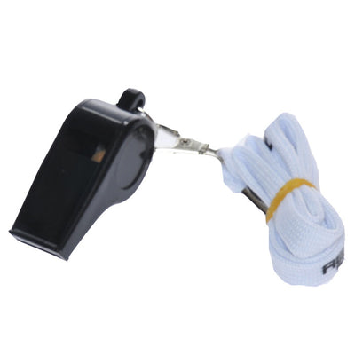 Plastic Whistles with Neck Lanyard
