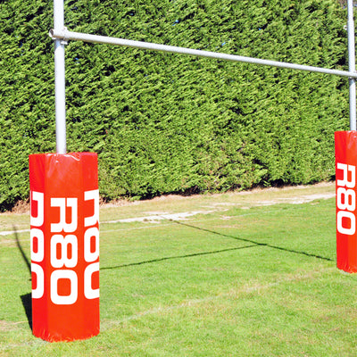 Hexagon Goal Post Pad-R80RugbyWebsite-Speed Power Stability Systems Ltd (R80 Rugby)