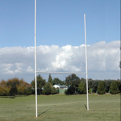 Intermediate Galvanised Rugby Posts-R80RugbyWebsite-Speed Power Stability Systems Ltd (R80 Rugby)