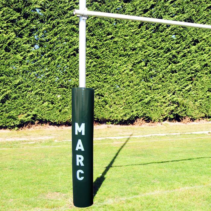 Wrap Around Goal Post Pads-R80RugbyWebsite-Speed Power Stability Systems Ltd (R80 Rugby)