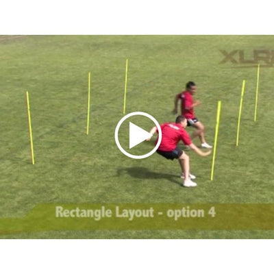 Agility Pole Drills Online Video-R80RugbyWebsite-Speed Power Stability Systems Ltd (R80 Rugby)