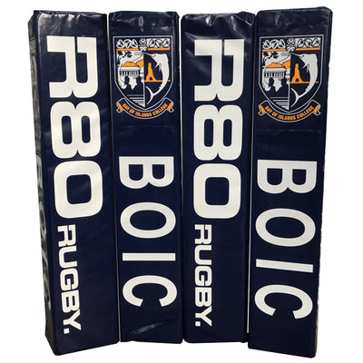 Custom Printed Deluxe Senior Goal Post Pads