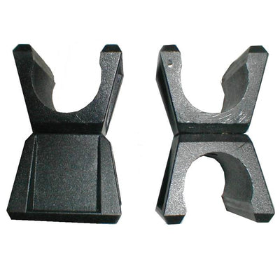360° Black Post Clips 25mm