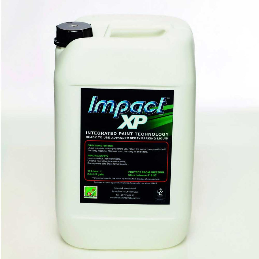 Impact XP White Line Marker Paint 5L