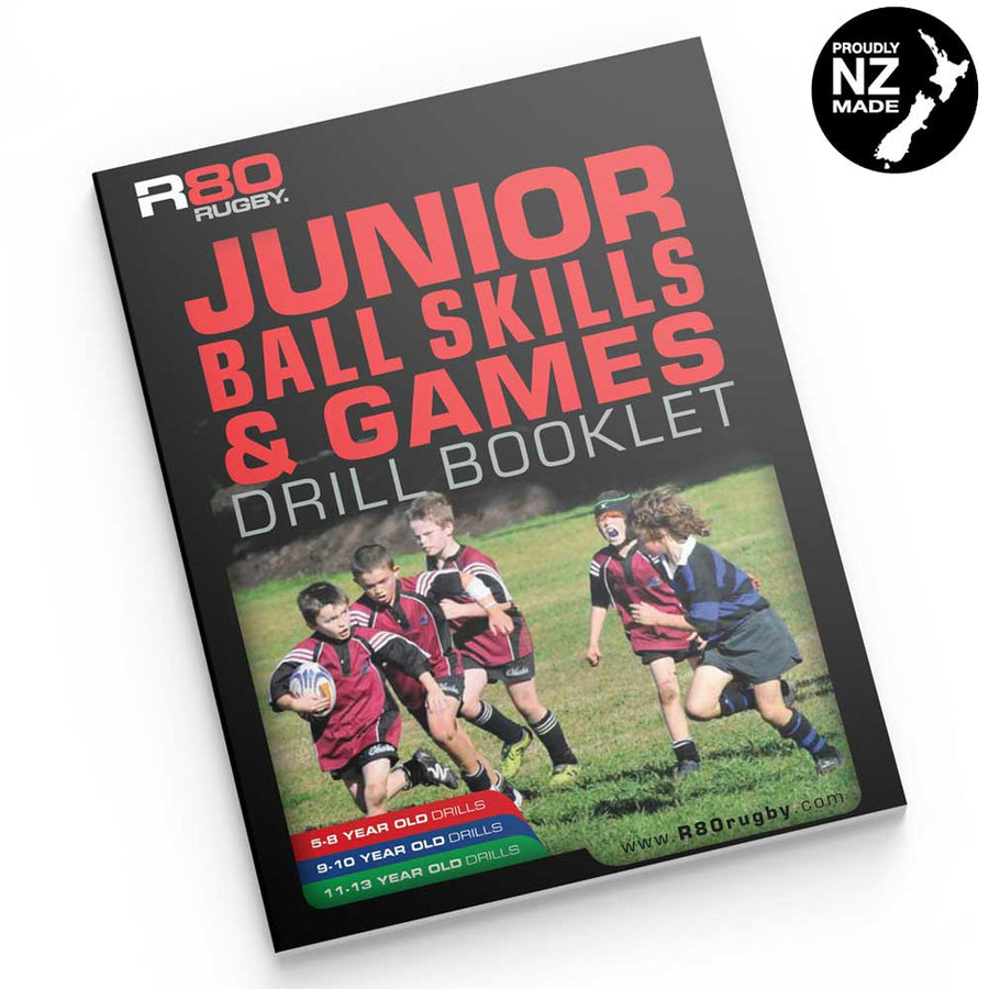 R80 Junior Ball Skill Drills & Games eBook