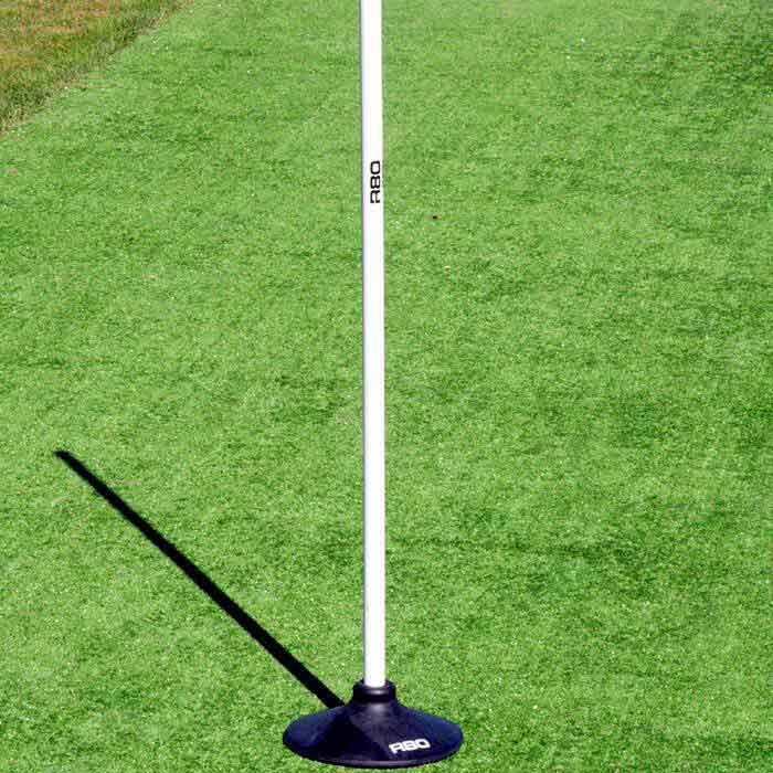 Black Rubber 25mm Pole Base-R80RugbyWebsite-Speed Power Stability Systems Ltd (R80 Rugby)