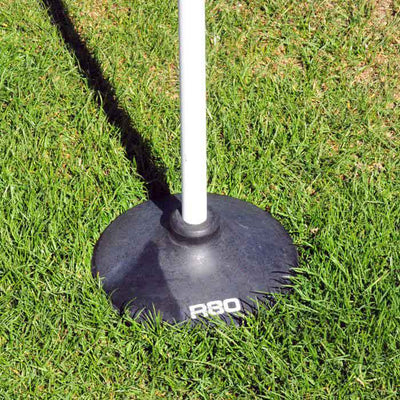 Black Rubber 25mm Pole Base