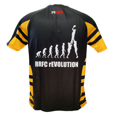 Rolleston Rugby Cool Dry T Shirt-R80RugbyWebsite-Speed Power Stability Systems Ltd (R80 Rugby)