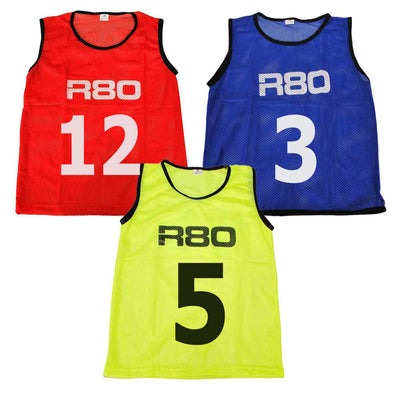 Sets of 15 Numbered Training Bibs