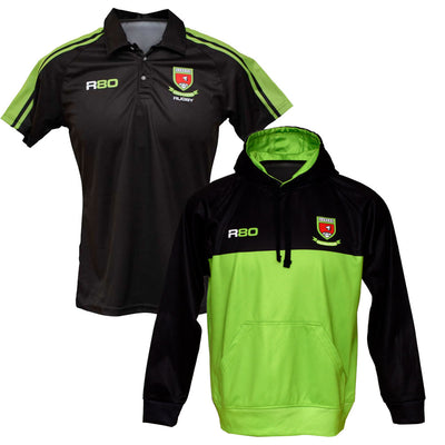 Hoodie + Polo Shirt Bundle-R80RugbyWebsite-Speed Power Stability Systems Ltd (R80 Rugby)