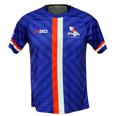 Sublimated Cool Dry T Shirt-R80RugbyWebsite-Speed Power Stability Systems Ltd (R80 Rugby)